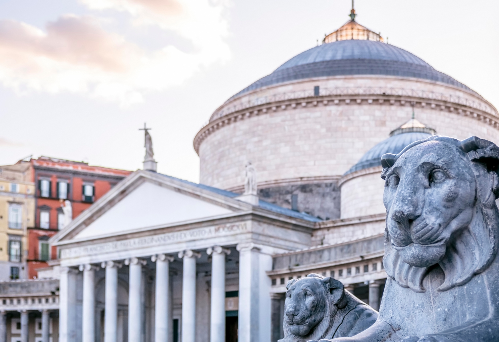 Piazza-Plebiscito-con-leone